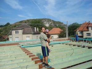 začíname so strechou 16.8.10