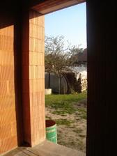 bočný vchod kotolňa