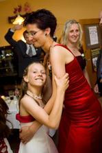 Sestřička Martina s dcerkou