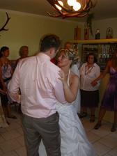 První novomanželský tanec.