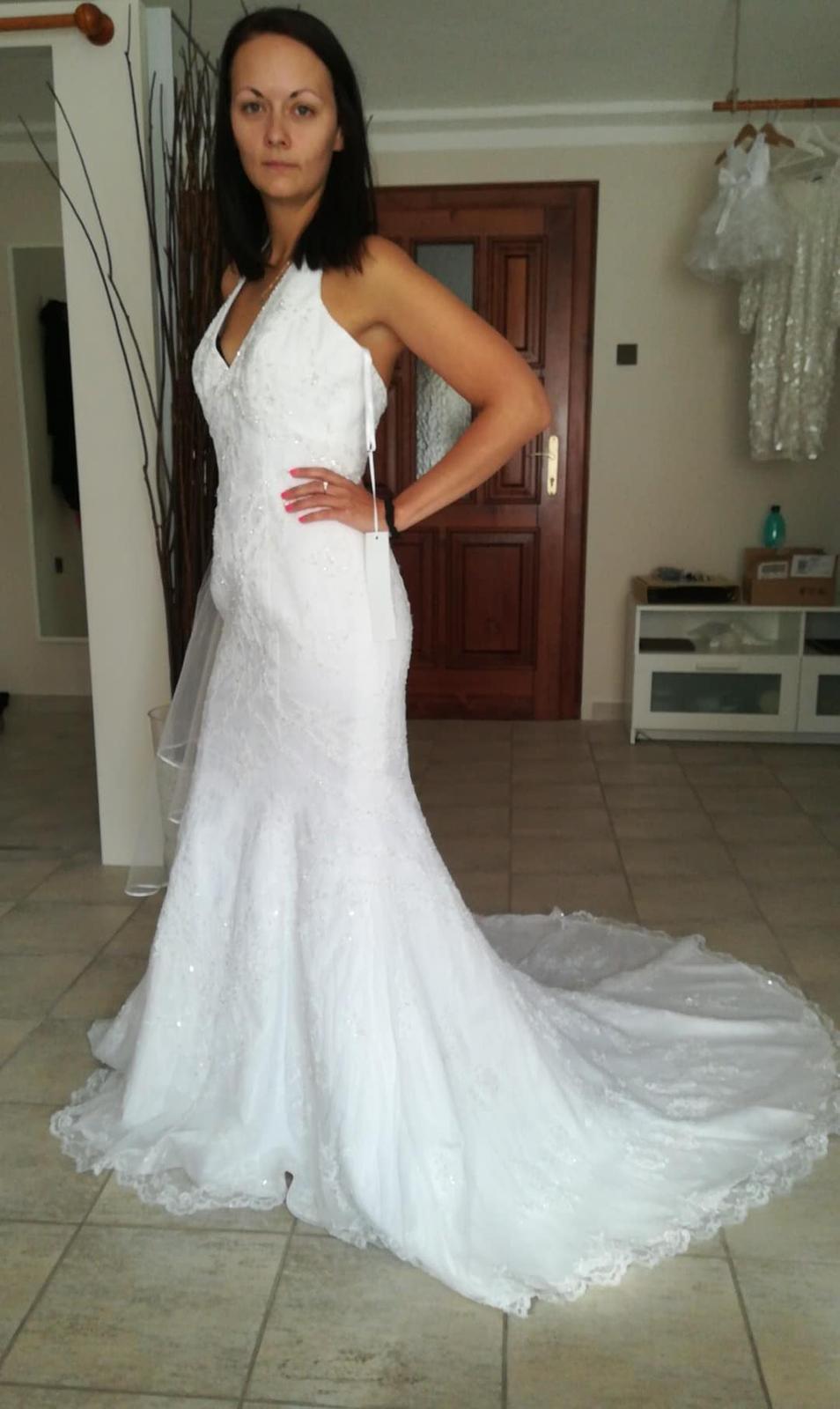 Svatební šaty David's Bridal - Obrázek č. 1