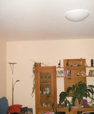 Poslední světla v bytě - obývák :-)