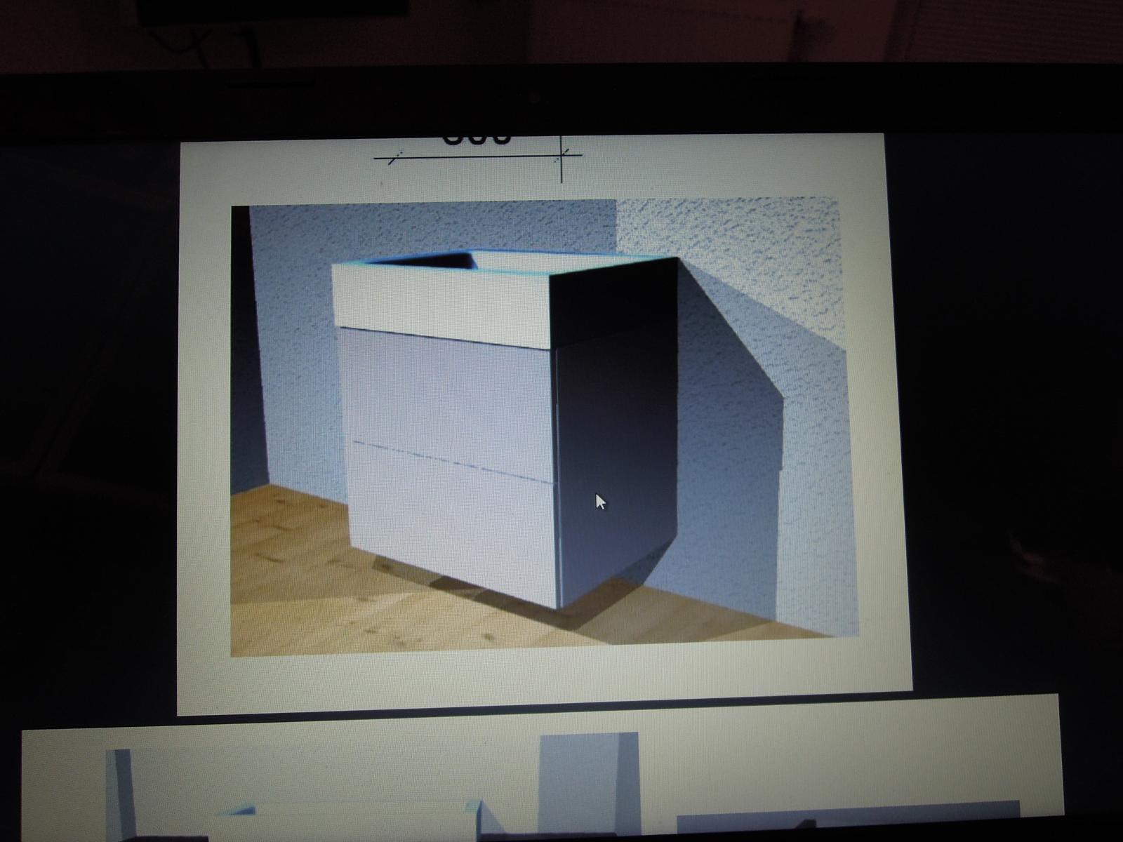 Budeme mít koupelnové skříňky... - Obrázek č. 1