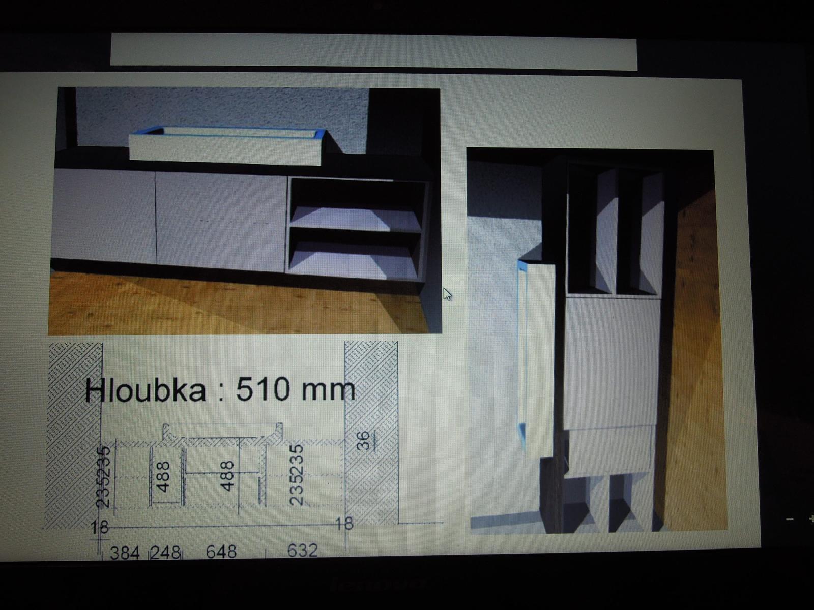 Budeme mít koupelnové skříňky... - Obrázek č. 2