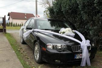 svadobné autíčko