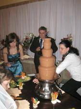 úžasná čokoládová fontána