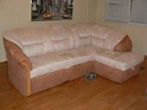 Nová sedačka...