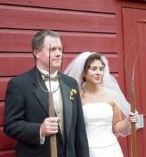 To jsem sem musela dát:-)Pravá vesnická svatba