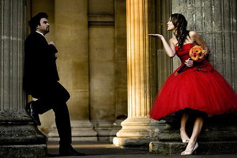 Krááásne červeno-biele šaty - Obrázok č. 32