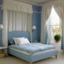 Zase modrá, ale ložnice bude v růžové