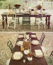 Krásná výzdoba stolu