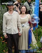 Krásné oblečení něvěsty i ženicha:-)
