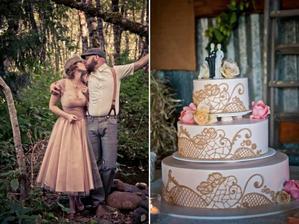 Nádherná béžová svatba:-)
