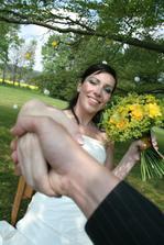gratulace od fotografa nevěstě