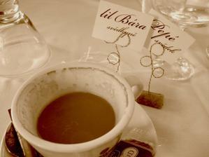 Kávička a jmenovky