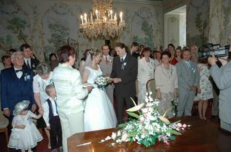 okroužkování nevěsty