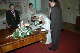 upsání nevěsty