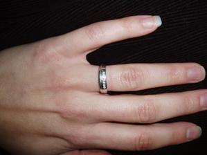 Můj zásnubní prstýnek!