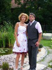 28.7.2007 na svatbě bratrance