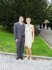 8.9.2007 na svatbě setřenice