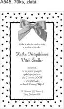 Ato je naše svatební oznámení!!!!!