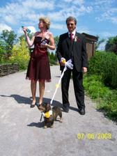 Moji rodiče s naší Andulkou :o))