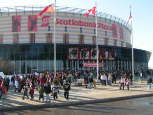 Hokejový stadion v Ottawě - Kanada...hmmmmm...