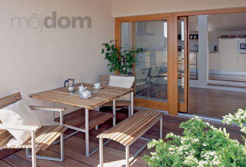 INSPIRACE - Posezení na balkónek u ložnice