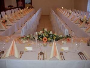 ..predstava výzdoby svadobnej sály..
