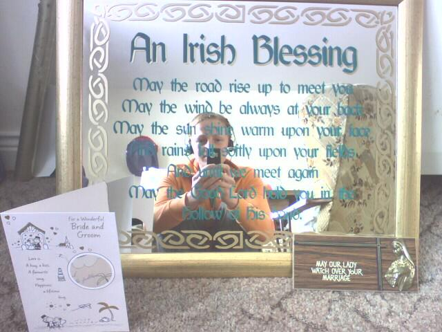 Darinka a Minko - nase prve dary z IRSKA