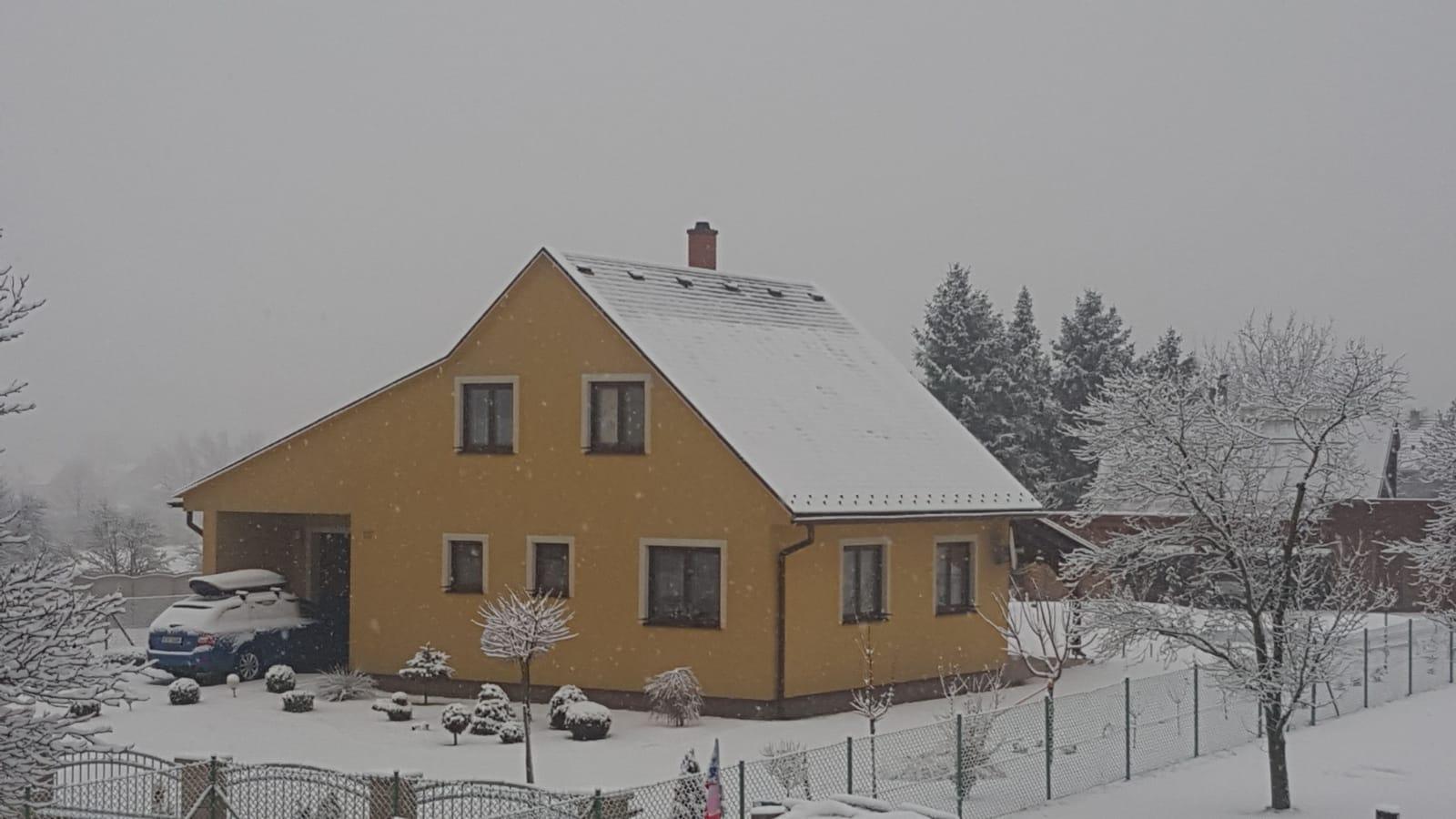 Zahrada 2020 - Zahrada pod sněhem.
