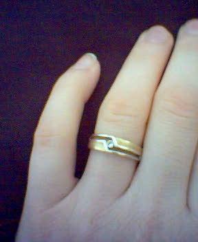 Jurko a Katka - snubný prstienok