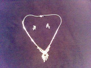 Jurko a Katka - náhrdelník a náušničky