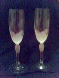 Jurko a Katka - naše poháre (zatiaľ čisté)