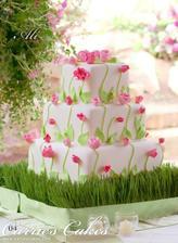 tortička ladená k výzdobe;)