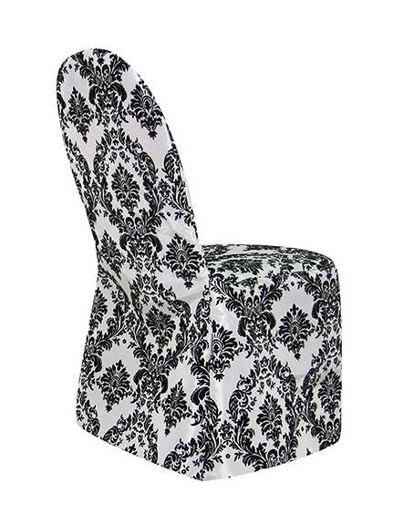 Luxusní damaškové potahy na židle - Obrázek č. 1