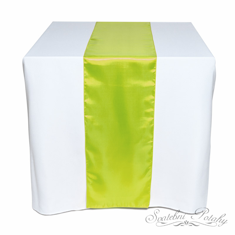 Saténové běžce k dekoraci stolů - Obrázek č. 2