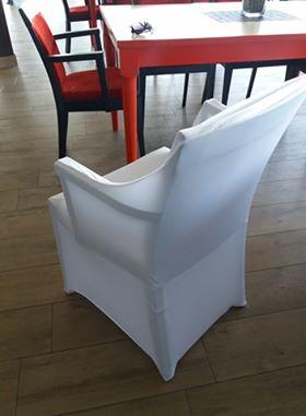 Elastické potahy na židle s područkami - Obrázek č. 2