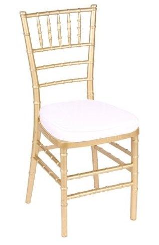 Dřevěné chiavari židle s koženkovým podsedákem - Obrázek č. 1