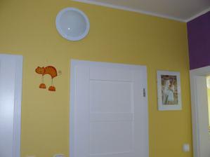 Žlutou a fialovou jsem malovala sama :o).