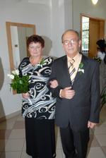 maminka nevěsty a tatínek ženicha