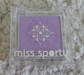 Miss Sporty - fialové oční stíny, odstín Lady Lila,