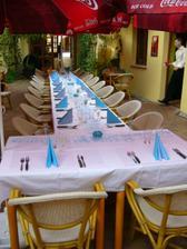 Výzdoba stolu za kterou děkuji mojí skvělé švagrové Verunce
