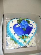 Slaný dortík ze šunky