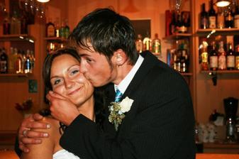 radost ženicha že našel svojí nevěstu :-D