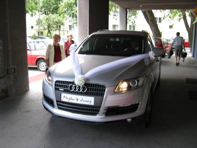 Mária Mertlová{{_AND_}}Juraj Bôžik - naše svadobné autíčko