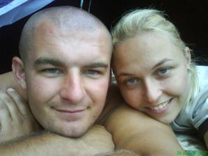 šťastný manželia, naše spoločné hobby rybárčenie