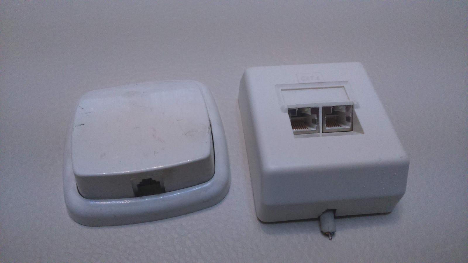 telefónne zásuvky  - Obrázok č. 1