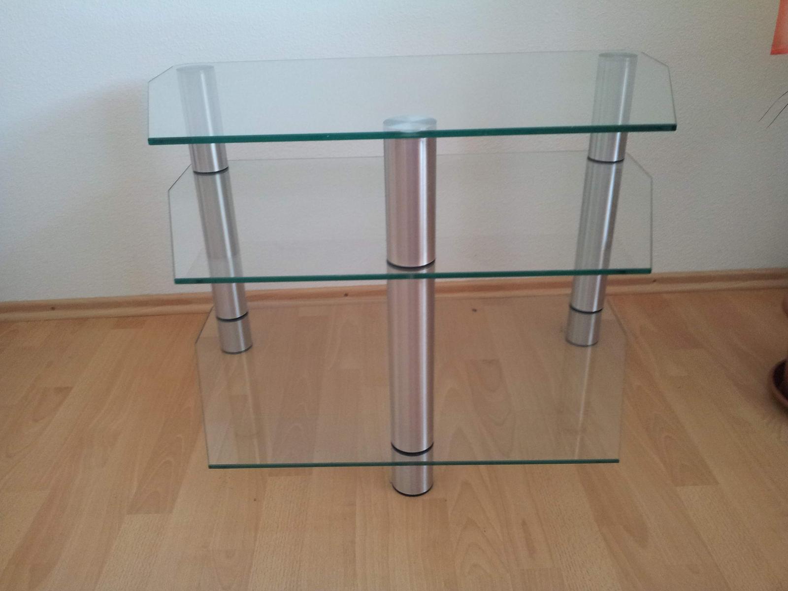 sklenený stolík pod TV - Obrázok č. 3