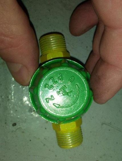 membránový plynový uzáver-nepoužitý - Obrázok č. 3
